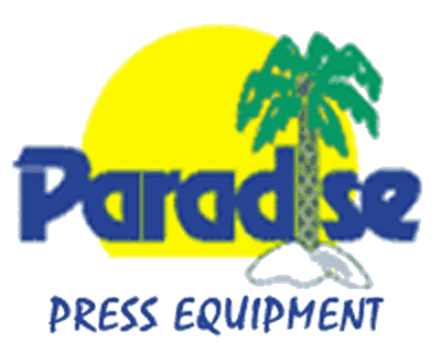 paradise press equipment logo